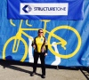 Submitted Photo Sandra Monyer poses for a photo while at the Philadelphia Ride to Conquer Cancer in October, 2014. The ride is a two-day cycling event that raises money for cancer research. Monyer rode 80 miles on her bike during the event.