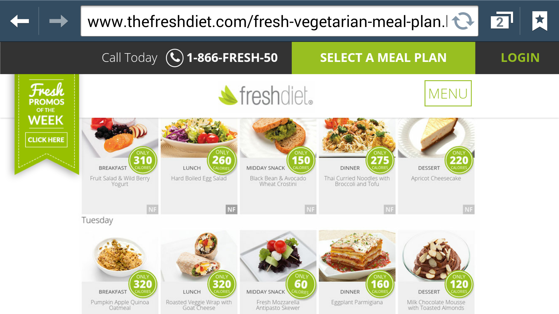 New doctors fresh meal plan launched to coincide with heart screenshot forumfinder Choice Image