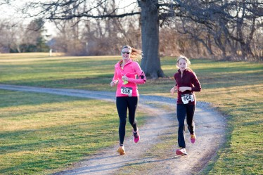 Sly Fox Track Club members run on a trail in Pottstown. More than 350 runners have signed up so far for the Pottstown Half-Marathon. Submitted Photo