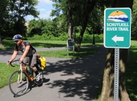 John Strickler - The Mercury The Schuylkill River Trail which was named the best urban trail in the United States.