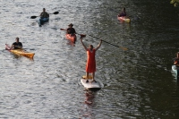 Paddlers traveled a 5-mile loop along the Schuylkill Canal in Mont Clare during last year's fundraiser for the Schuylkill Canal Association.