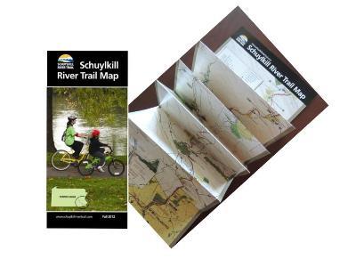 Schuylkill River Trail Map Brochure