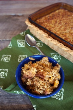 Photo courtesy of Weaver's Orchard Peach baked oatmeal makes a quick and tasty breakfast.