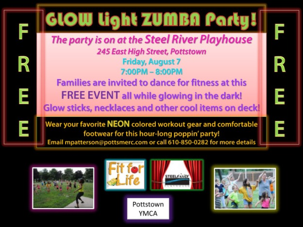 GLOW Light ZUMBA Party