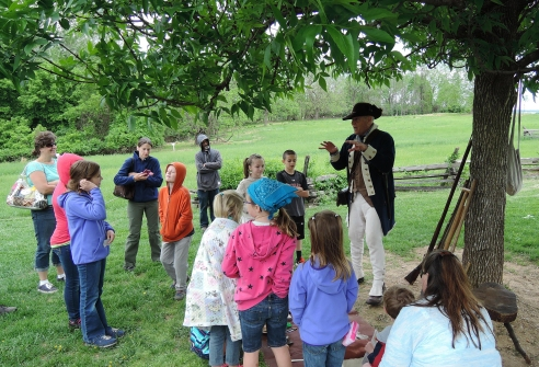 All fourth grade students can visit national parks for free with the White House's Every Kid in a Park program. Photo Courtesy of Valley Forge National Historic Park
