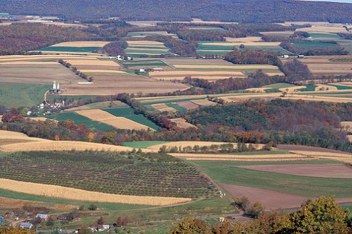 New jointly-developed USDA apps will help promote sustainable land-use practices. ARS photo by Scott Bauer.
