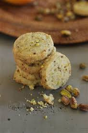 Pistachio, orange and date nankatai are from a recipe by Meera Sodha. Matthew Mead — Associated Press
