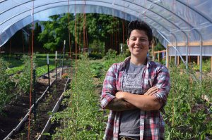 Stacey Givens, The Side Yard Farm and Kitchen in Portland, Oregon.