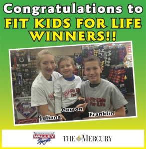 Fit Kids for Life winners