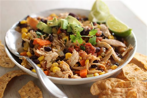 Food Healthy Mexican Chicken Stew