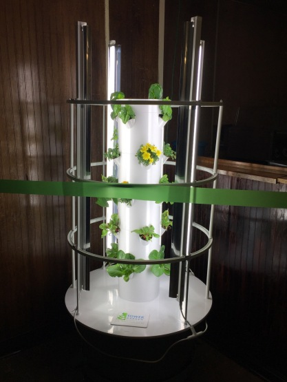 VIDEO Nutrition company donates indoor tower garden to Pottstown