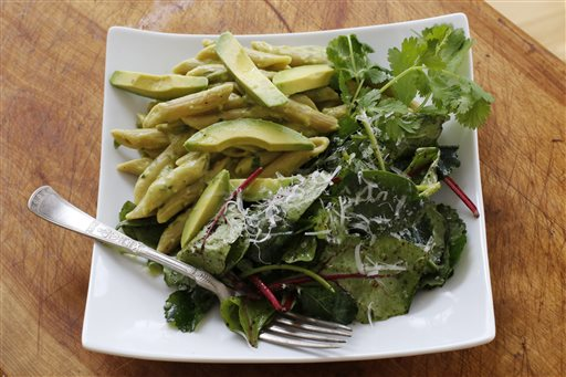 Food Healthy Avocado Pasta