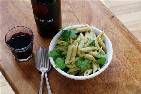 Food Healthy Avocado Pasta