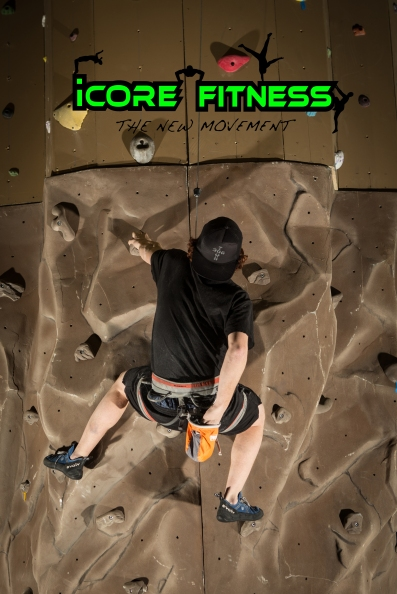 iCORE Fitness rock climbing