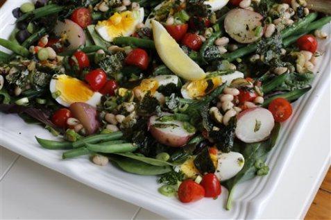 Healthy-Salade Nicoise