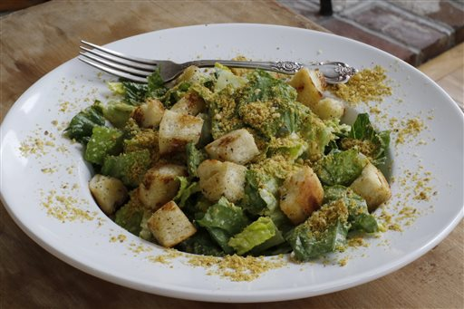 Food Healthy Vegan Caesar Salad