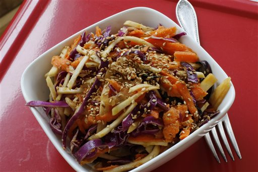 Food-Deadline-Carrot and Kohlrabi Slaw