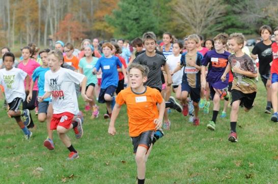 OJR elementary students Wildcat Run