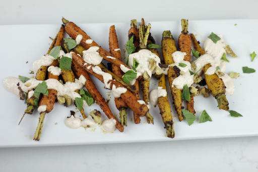 Food Healthy Moroccan Spiced Carrots