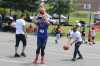 People participate in a knockout basketball tournament during a community day in Pottstown. Two community events in the borough on Saturday will feature basketball games. Michilea Patterson — Digital First Media