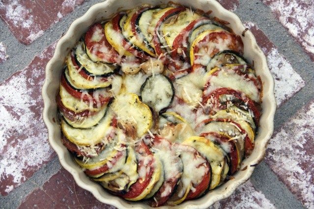 Food Healthy Italian Squash Bake