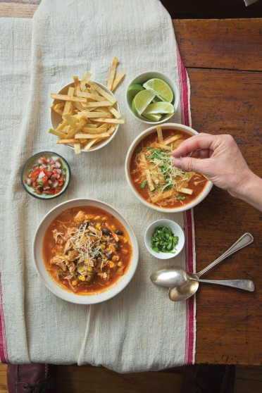 Food Deadline Mexican Tortilla Soup
