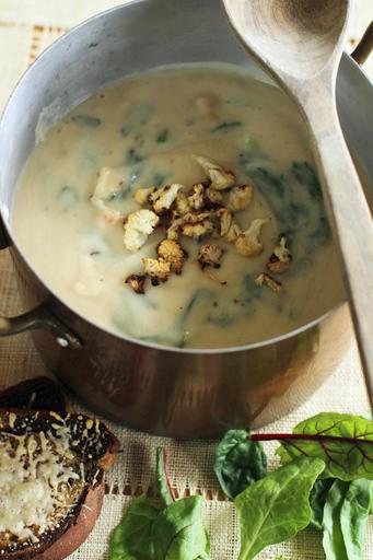 Food KitchenWise Cauliflower Soup