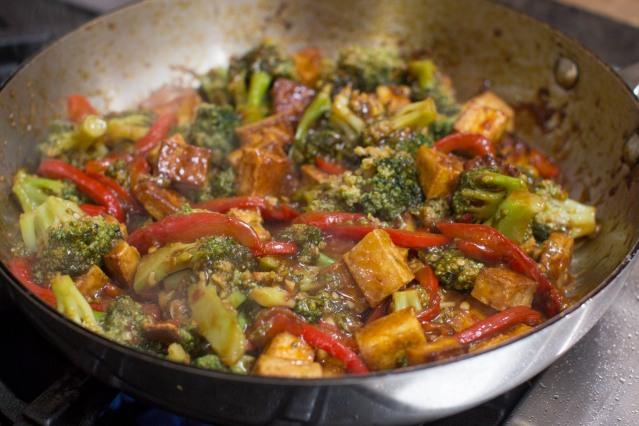 Food KitchenWise Chili Orange Tofu