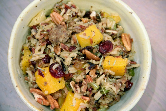 Food Healthy Wild Rice Dressing
