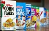 FILE - This Feb. 1, 2012, file photo, shows Kellogg's cereal products, in Orlando, Fla. (AP Photo/John Raoux, File)
