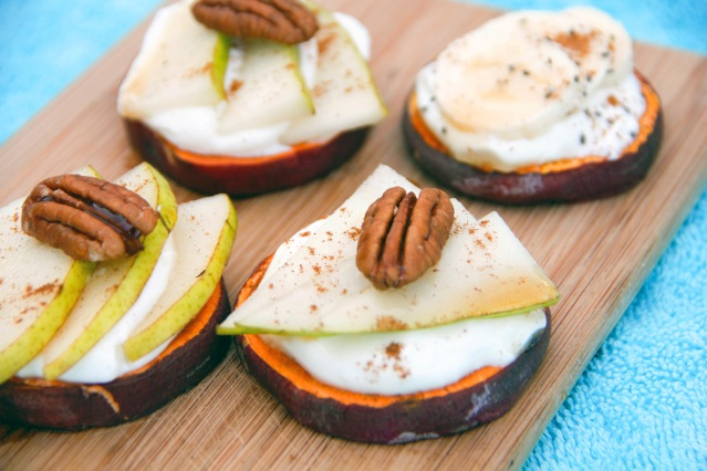 Food Healthy Sweet Potato Toasts