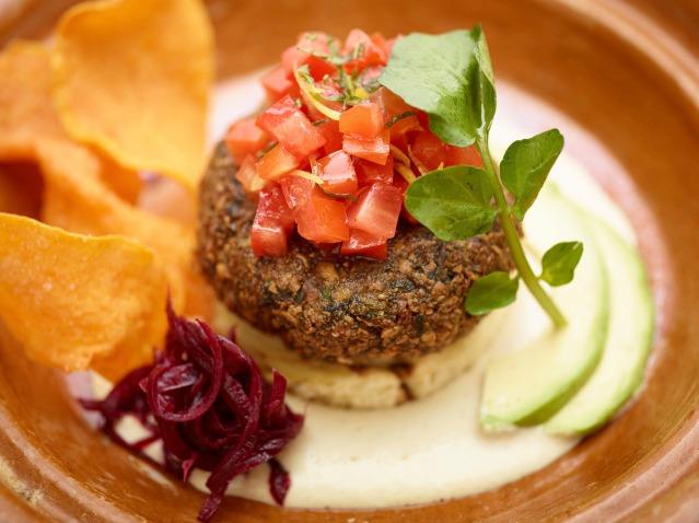 Food Culinary Institute of America Falafel Challah Burger