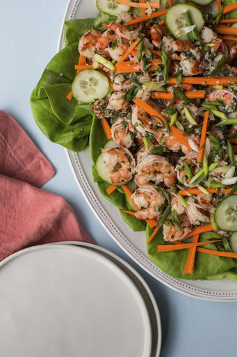 Food Deadline Vietnamese Shrimp Salad