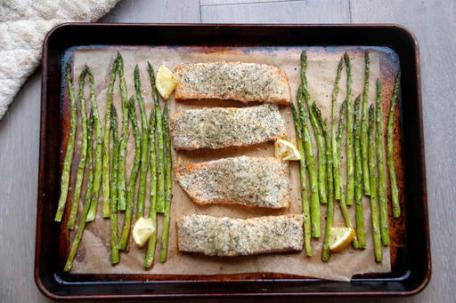 Food-Healthy-Sheet Pan Salmon