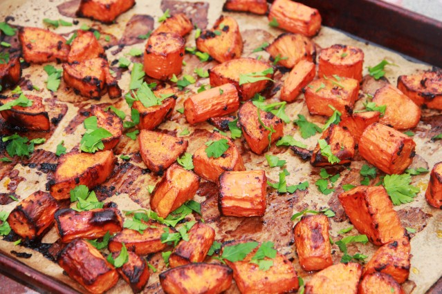 Food Healthy Sweet Potato and Carrot