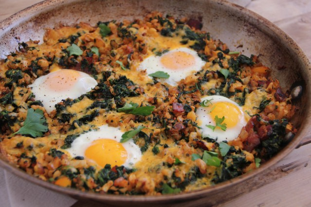 Food Healthy Breakfast Skillet