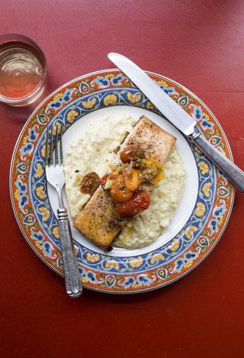 Food Deadline Salmon With Polenta