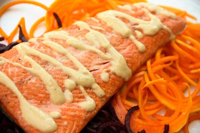 Food Healthy Miso Salmon