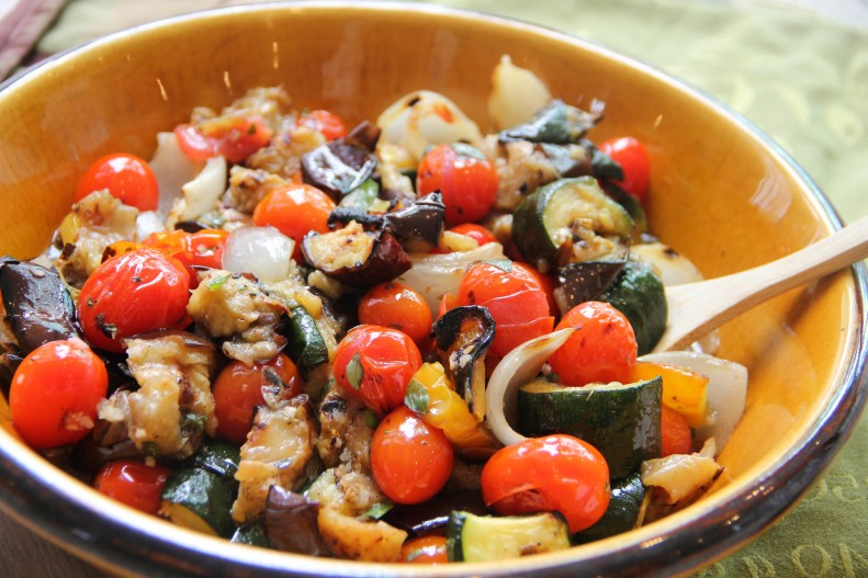 Food Healthy Grilled Ratatouille
